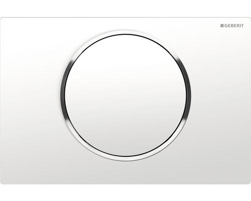 Betätigungsplatte Geberit Sigma10 weiß/chrom