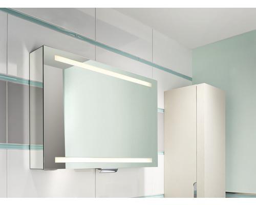 Spiegelschrank Keuco Edition 300 95x65x16 cm 1-türig aluminium