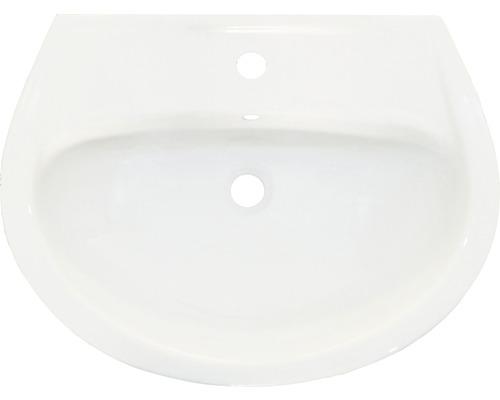 Waschbecken 60x48 cm weiß