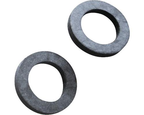 "Gummidichtung für Flexverbindung 3/8 "" 14x9x2 mm 2 Stück"