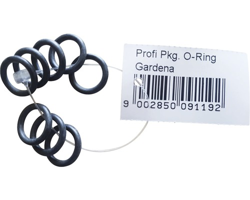 O-Ring Dichtung Gardena 11x2,5 mm 8 Stück