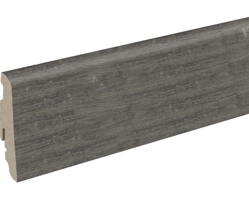 Sockelleiste FU60L Mooreiche Viking 19x58x2400 mm