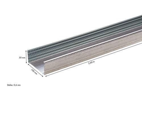 Knauf CW-dB Ständerprofil 100 x 50 mm Länge: 2,60 m