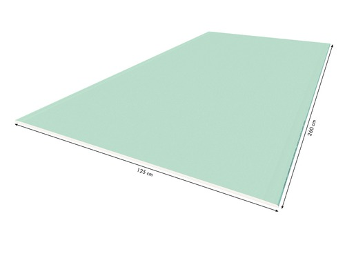 Gipskartonplatte Knauf imprägniert 2600x1250x12,5 mm