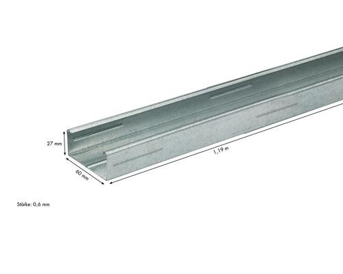 Knauf CD-Deckenprofil 60 x 27 mm Länge: 1,19 m