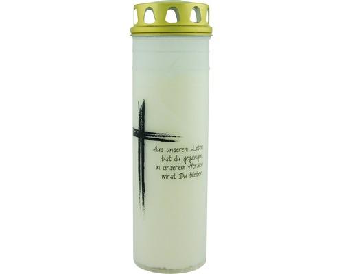 """Trauerlicht gross """"Kreuz"""""""