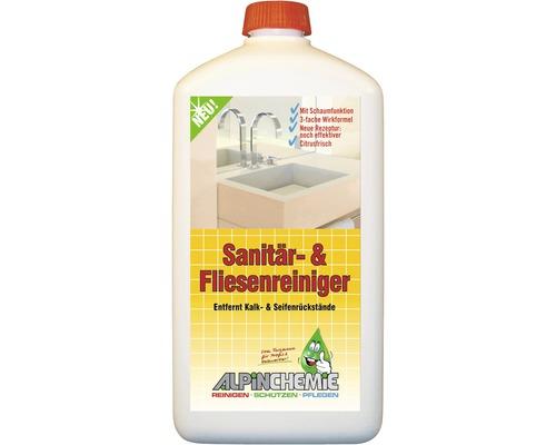Sanitär- und Fliesenreiniger Alpin Chemie 1 Liter