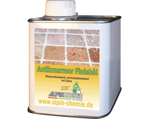 Antikmarmor-Finishöl Alpin Chemie 0,5 Liter