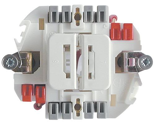 Doppelschalter SCH1/3+3 Einsatz unbeleuchtet Edizio Due