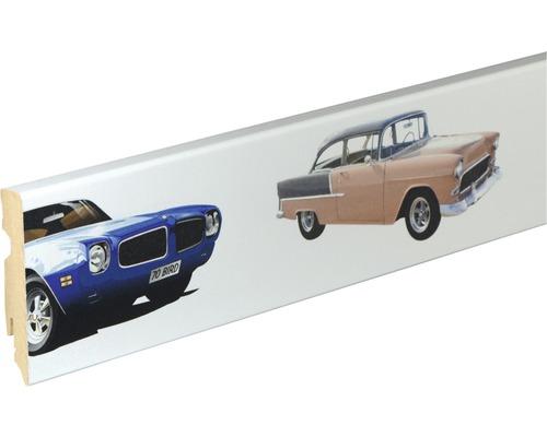 Sockelleiste Digitaldruck Auto 15x80x2400 mm