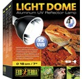 UV-Reflektorlampe Exo Terra Aluminium groß, 18 cm