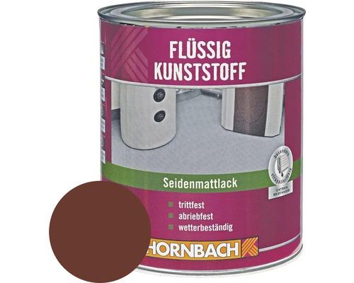 Flüssig Kunststoff seidenmatt Rotbraun 750 ml