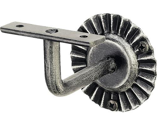 Handlaufstütze Stahl 90° lackiert und patiniert