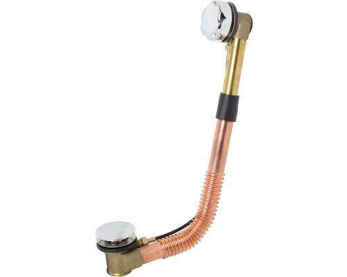 Ab- und Überlaufgarnitur Sanotechnik für Badewannen Messing ohne siphon
