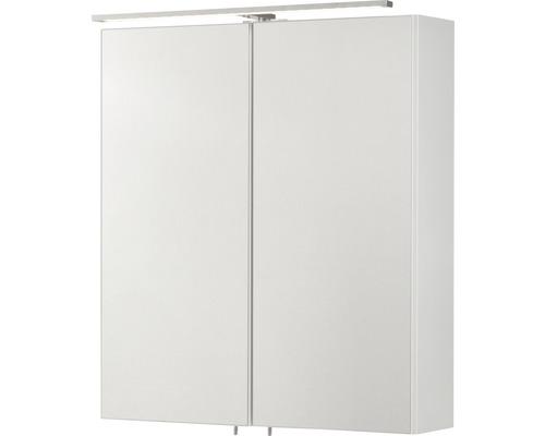 Spiegelschrank Fackelmann Como 60x68x16 cm 2-türig weiß