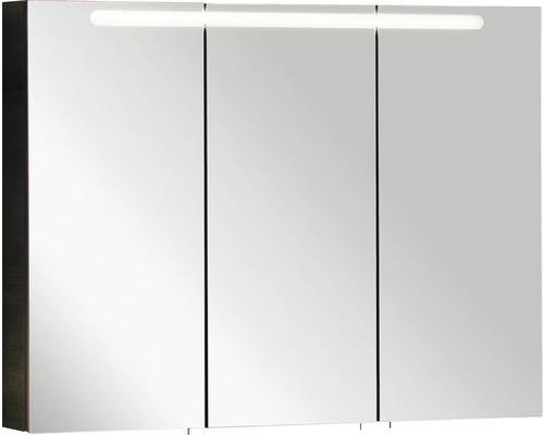 Spiegelschrank Fackelmann A-Vero 105x79,5x15,5 cm 3-türig weiß