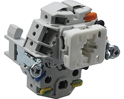 Druckschalter Kombination SCH3/T13 Einsatz Edizio Due