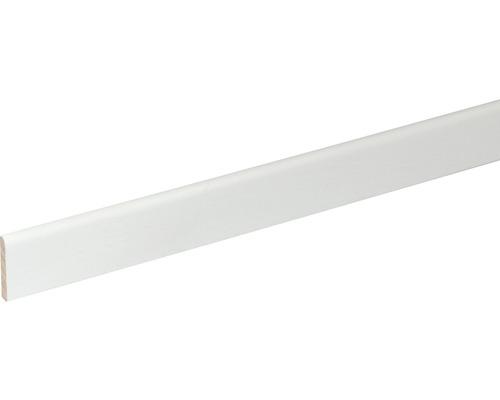 Sockelleiste SF260 Buche weiß lackiert 5x29 mm L:2400 mm
