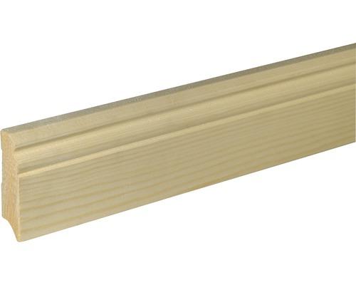 Sockelleiste SF 270 Fichte/Kiefer roh 18x70 mm L:2400 mm
