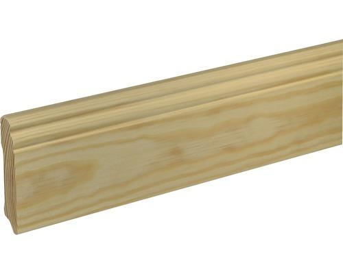 Sockelleiste SF 280 Fichte/Kiefer roh 19x96 mm L:2400 mm