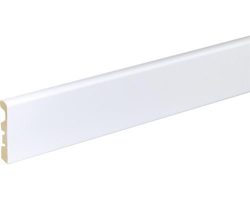 Sockelleiste SF263 MDF weiß lackiert 10x58 mm L:2400 mm