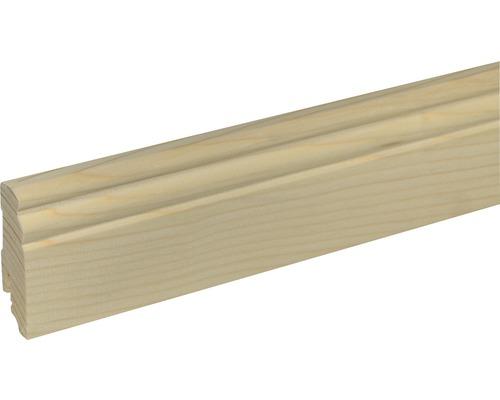 Sockelleiste SF 277 Fichte/Kiefer roh 19x70 mm L:2400 mm