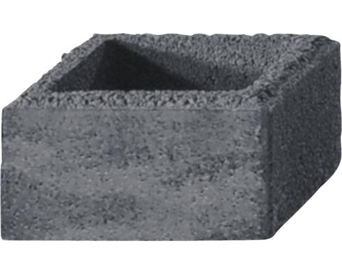 Pfeilerstein iBrixx System quarzit 37,5x37,5x20cm