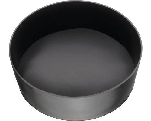 Gipsbecher flach Ø 130 mm zylindrisch