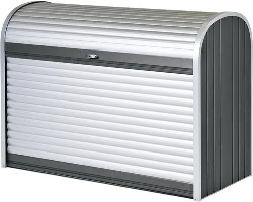 Mülltonnenbox biohort StoreMax 160, 163 x 78 x 120 cm, dunkelgrau-metallic