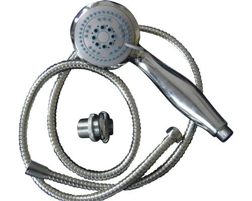 Handbrause Set Sanotechnik 2 fach verstellbar chrom