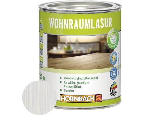 HORNBACH Wohnraumlasur weiß 750 ml