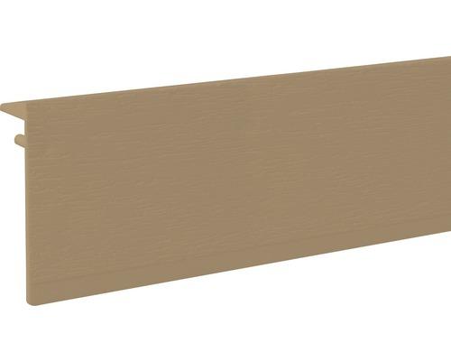 Heizungsrohrverkleidung Sockelleiste Kuststoff Buche 100x2500 mm