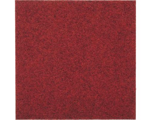 Teppichfliese Vox rot 50x50 cm