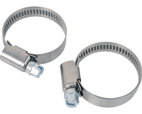 Schlauchschelle edelstahl 23-35mm 2 Stück