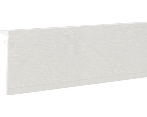 Heizungsrohrverkleidung Sockelleiste Kunststoff weiß 100x2500 mm