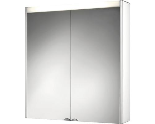 Spiegelschrank Jokey DekorAlu 65,5x71,5x15,5 cm 2-türig weiß