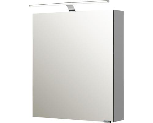 Spiegelschrank Pelipal Sunline 100 60x70x16 cm 1-türig links weiß hochglanz
