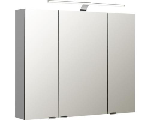 Spiegelschrank Pelipal Sunline 100 90x70x16 cm 3-türig weiß hochglanz
