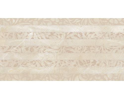 Steingut Dekorfliese Crema Marfil 34x67 cm