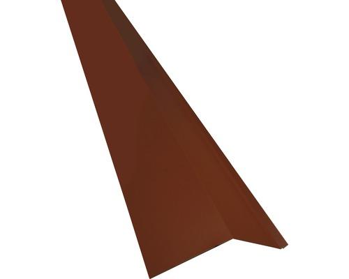PRECIT Schürze für Mansarden außen oxide red RAL 3009 1000 x 135 x 90 mm