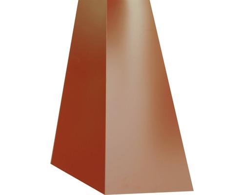 PRECIT Schürze für Mansarden innen oxide red RAL 3009 1000 x 100 x 140 mm