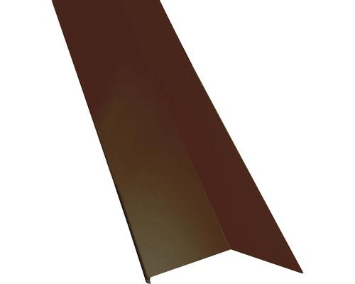 PRECIT Schürze für Mansarden außen chocolate brown RAL 8017 1000 x 135 x 90 mm