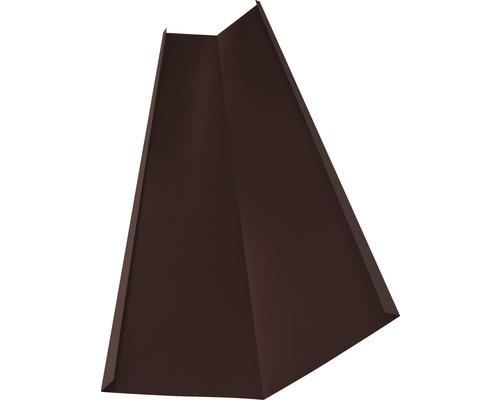 Precit Kehlrinne chocolate brown RAL8017 1 m