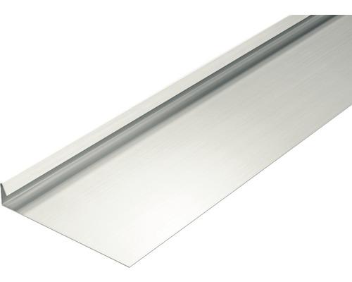 PRECIT Aluminium Rinneneinhang 90° ohne Wasserfalz 2 m