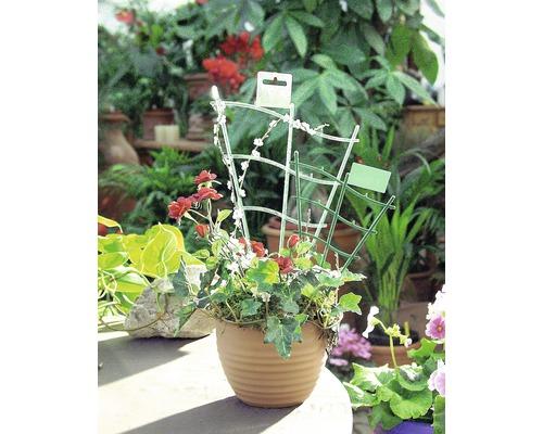 Blumengitter FloraSelf geschwungen 30 cm, grün