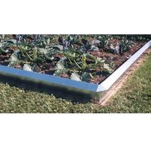 Schneckenzaun FloraSelf 115 cm silber