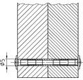Flachrundschraube Pozidriv 4x27 mm, galv. verzinkt, 100 Stück