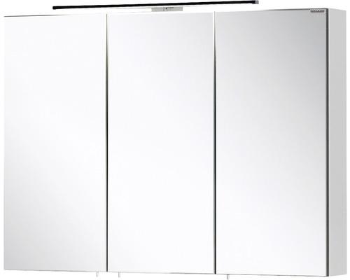 Spiegelschrank Fackelmann Vadea 90x68x16 cm 3-türig weiß