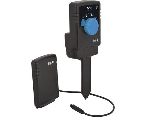 Feuchtesensor for_q, drahtlos für automatische Bewässerung mit mobilen Regnern, Tropfsystemen (MicroDrip) oder Sprinklersystemen
