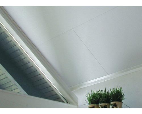 Coverboard Struktur weiß 10x620x1290 mm